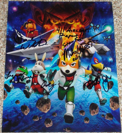 Star Fox 64 - West, May, Browne, White, Johns