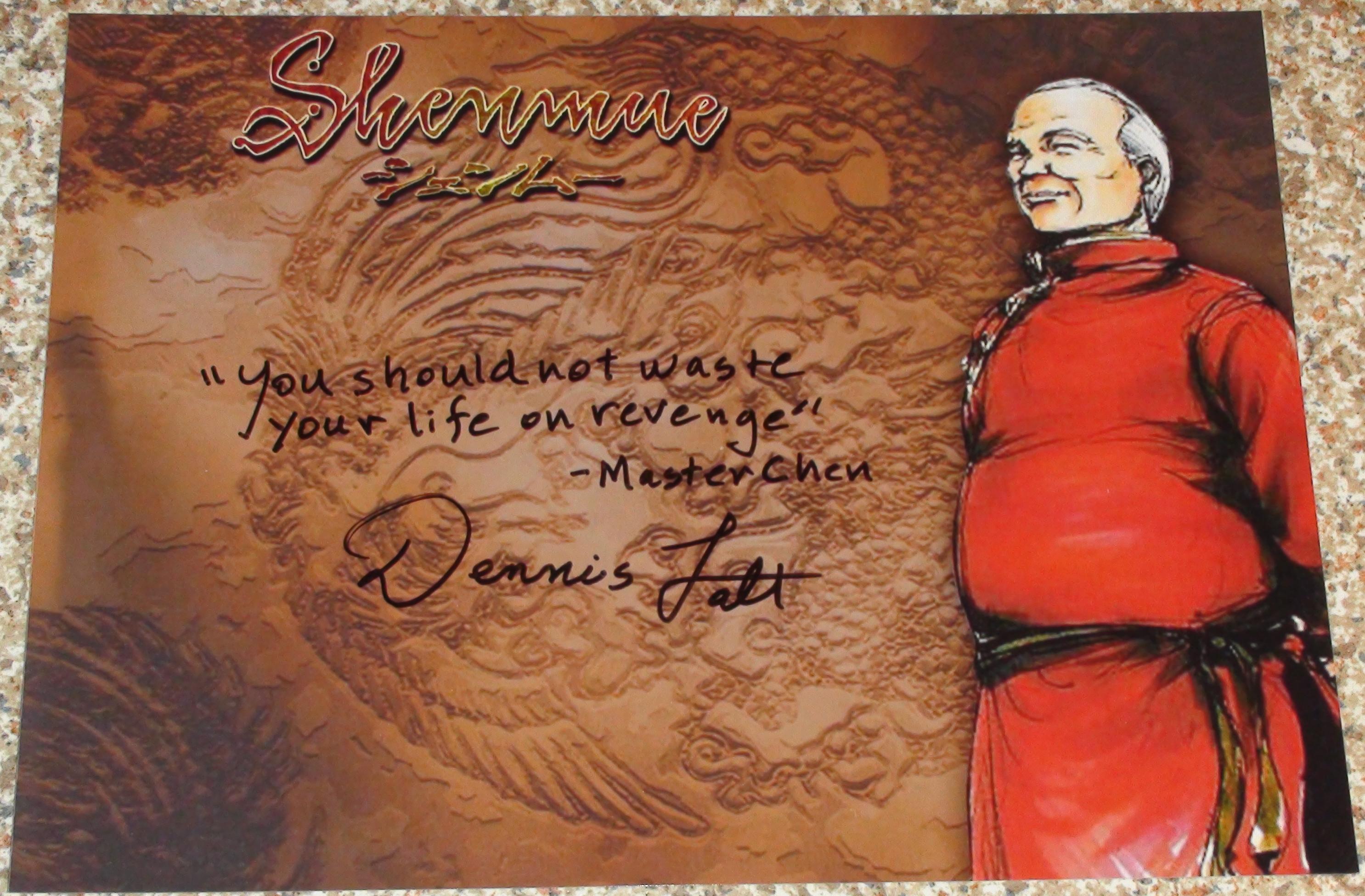 Shenmue - Dennis Falt