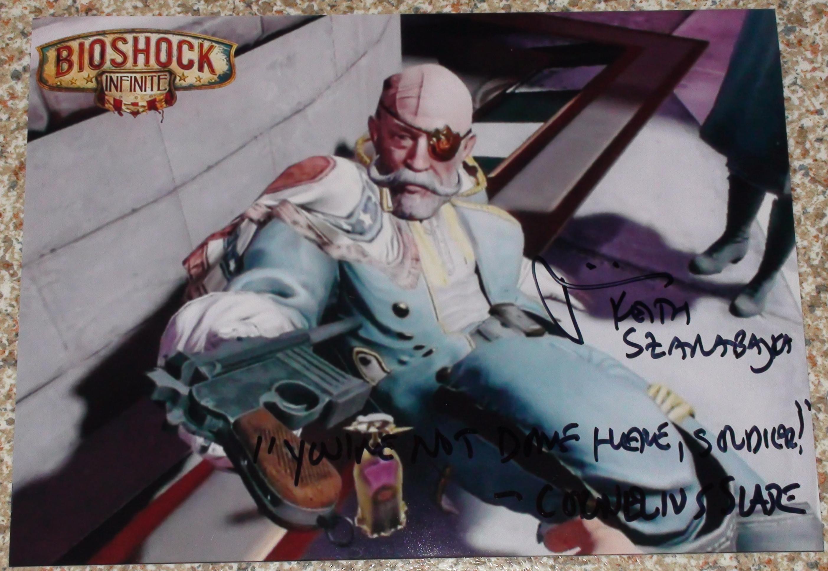 Bioshock Infinite - Keith Szarabajka