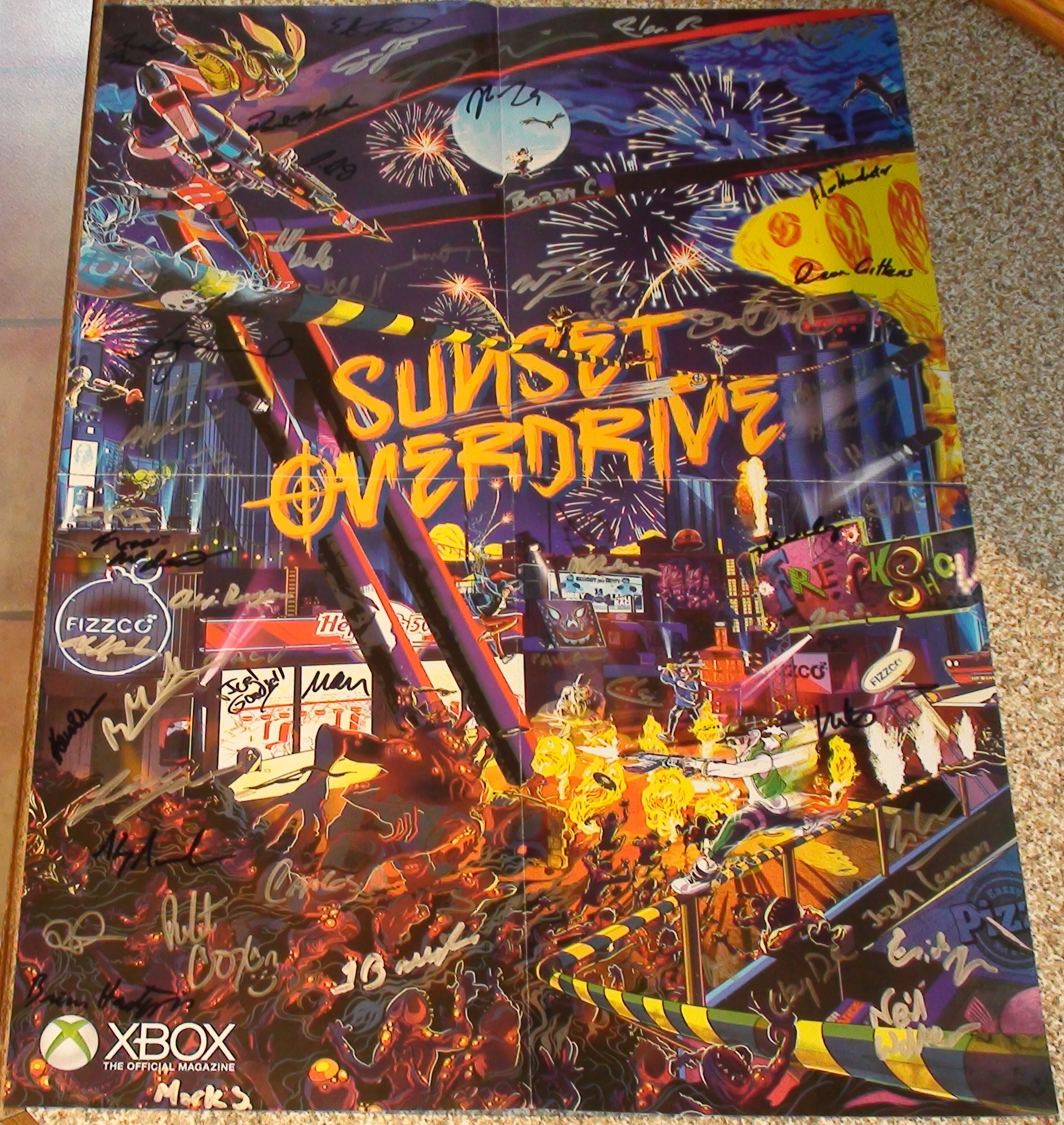 Insomniac - Sunset Overdrive 1/5