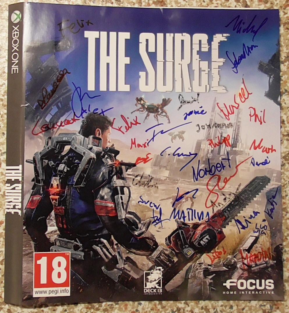 The Surge - Deck13