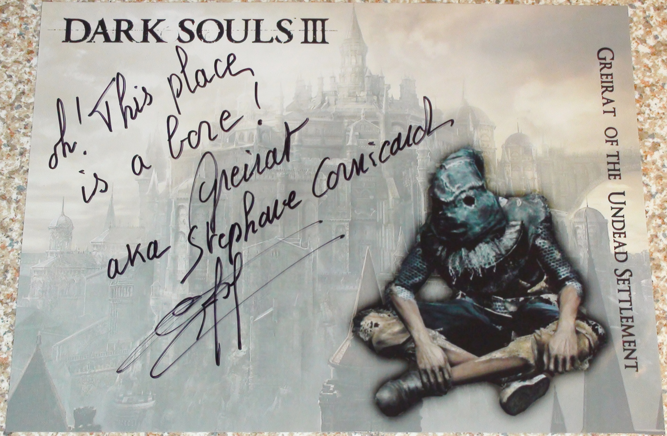 Dark Souls 3 - Stephane Cornicard