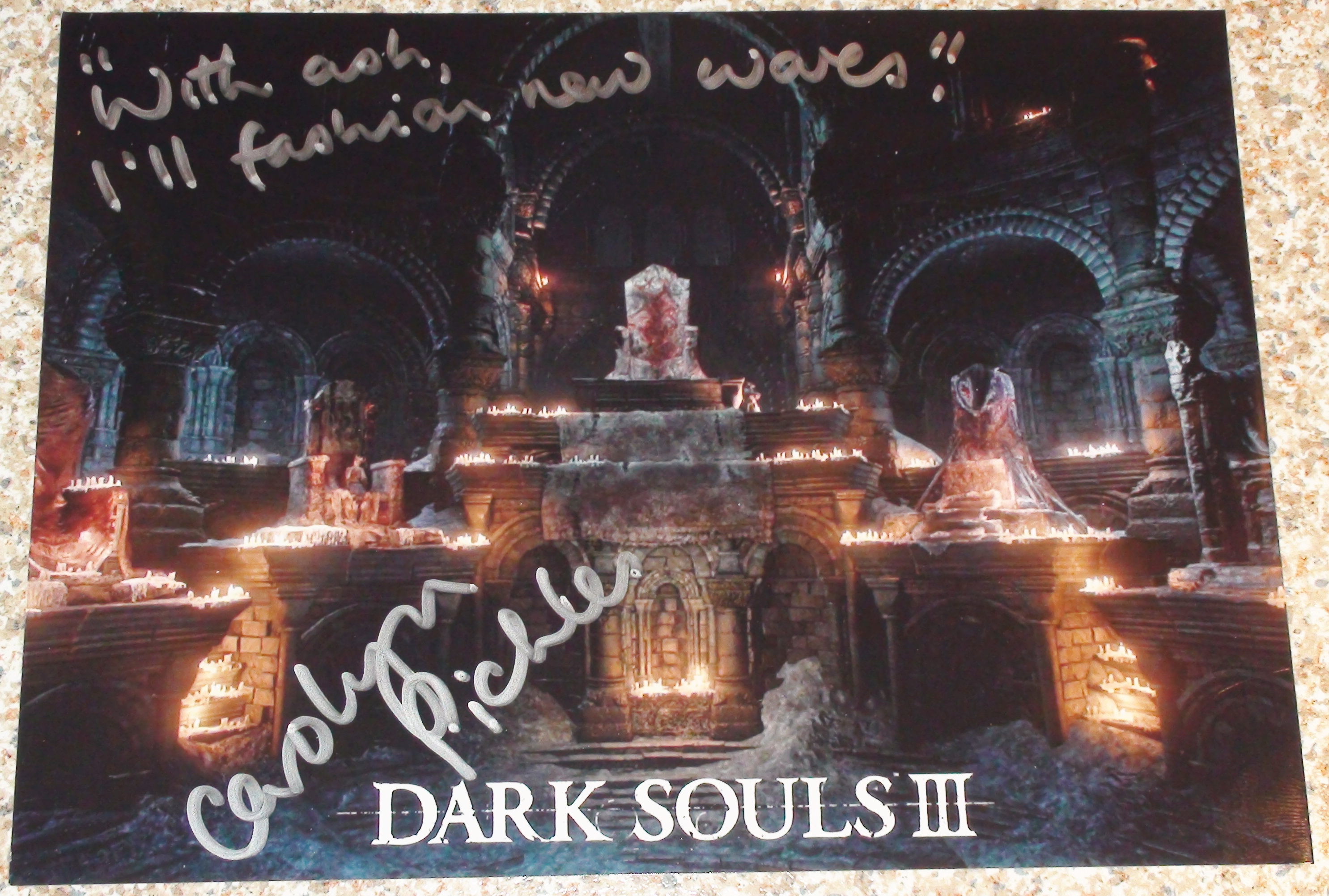 Dark Souls Video Game Autographs