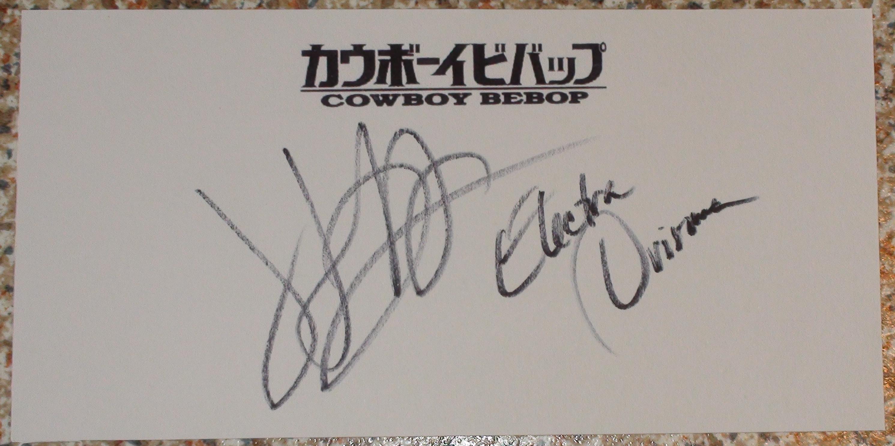 Cowboy Bebop - Jennifer Hale