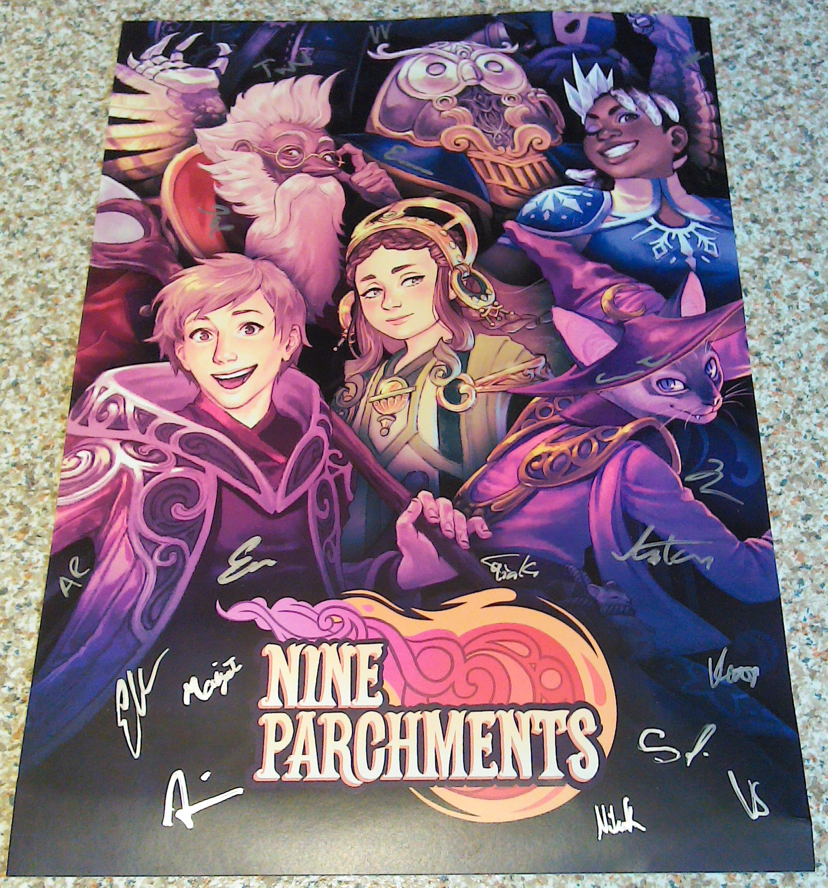Nine Parchments - Frozenbyte