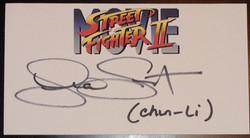 Street Fighter II - Lia Sargent