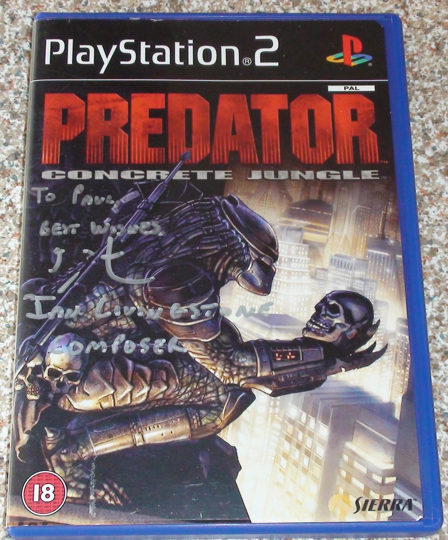 Predator - Ian Livingstone