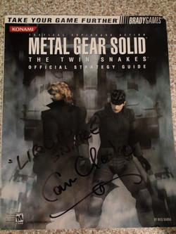 MGS Twin Snakes - Cam Clarke