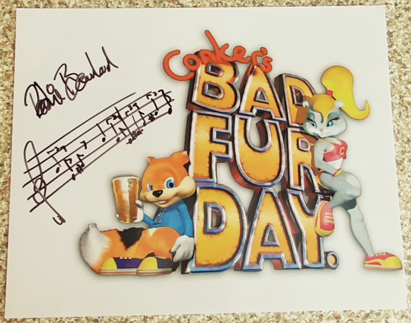 Conkers Bad Fur Day - Robin Beanland