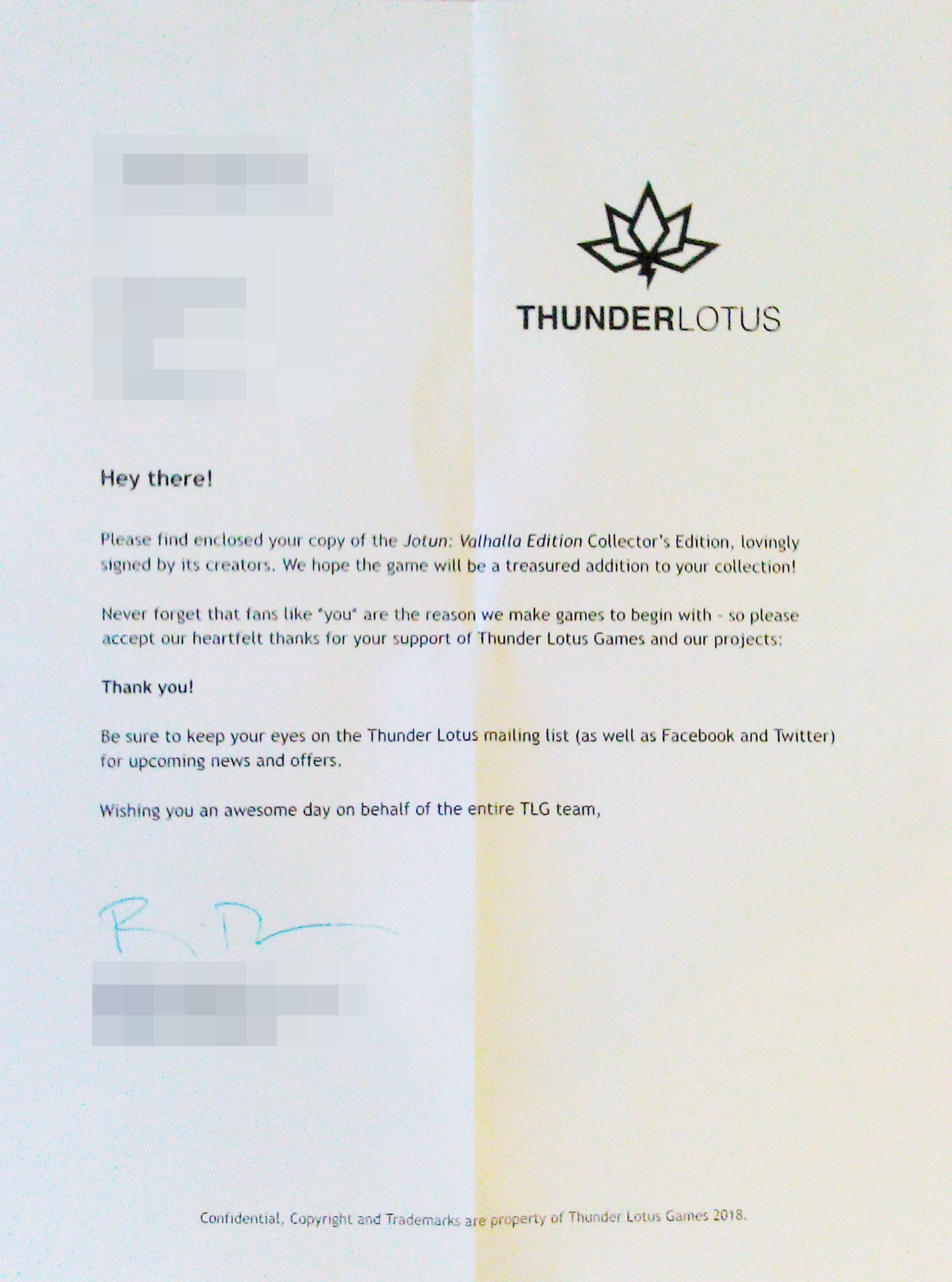 Thunder Lotus Games