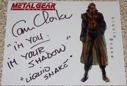 MGS - Cam Clarke
