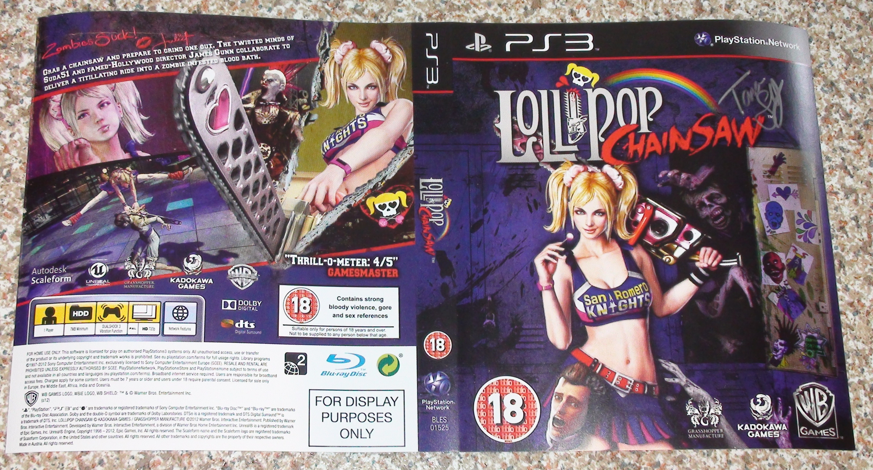 Lollipop Chainsaw - Tara Strong