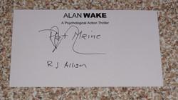"""RJ Allison """"Pat Maine"""""""