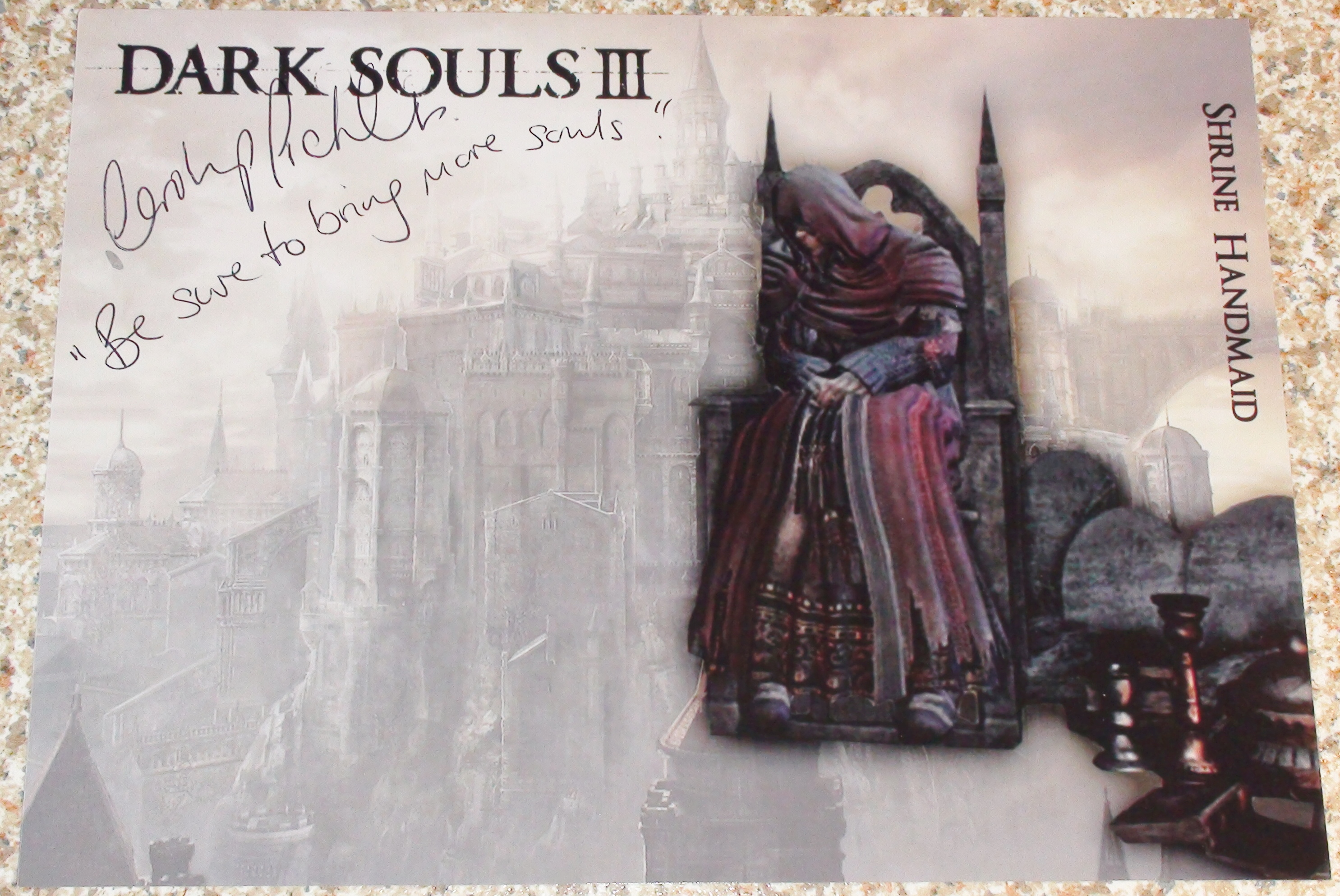 Dark Souls 3 - Carolyn Pickes