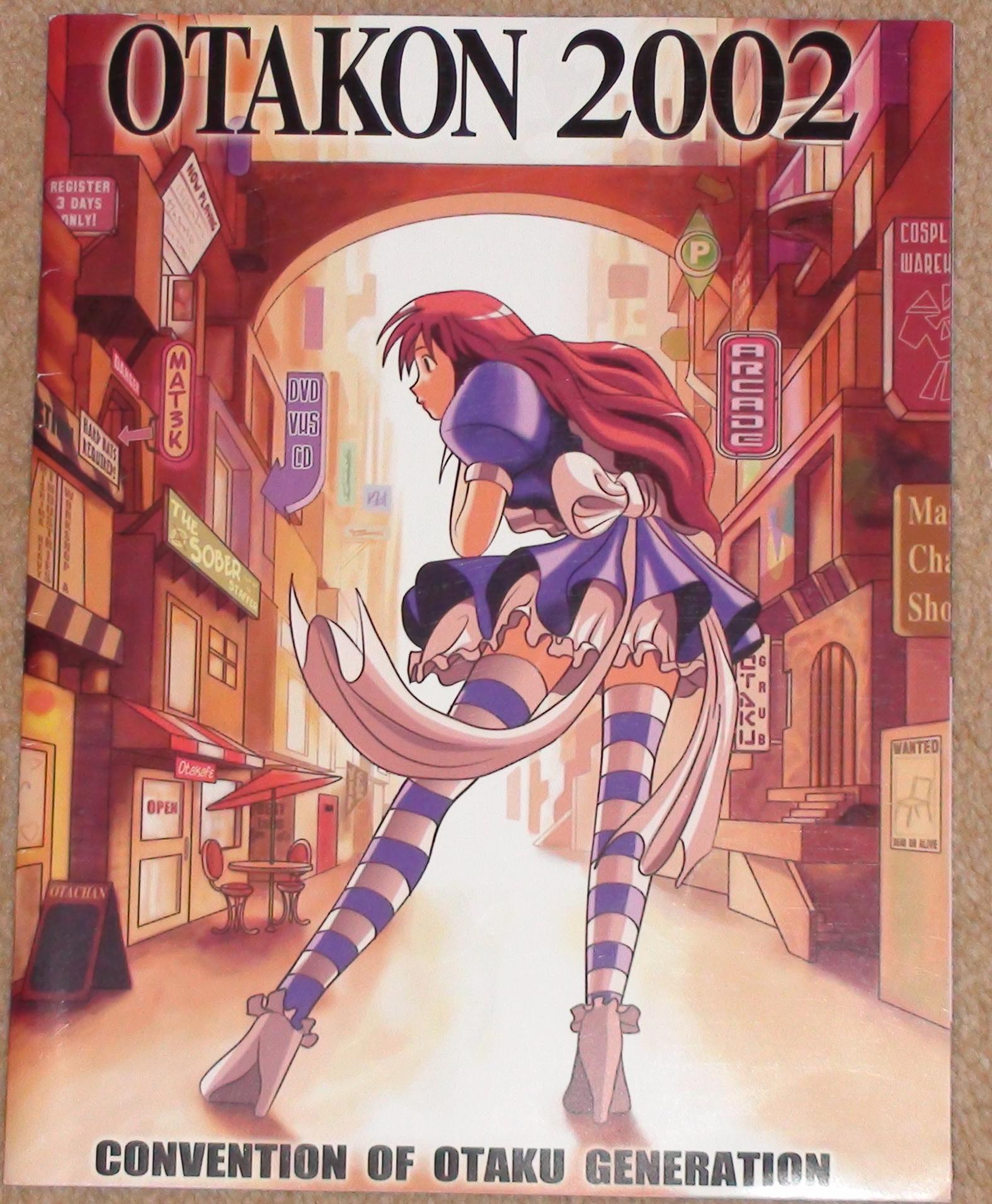 Otakon 2002 - Yasuhirow Nightow
