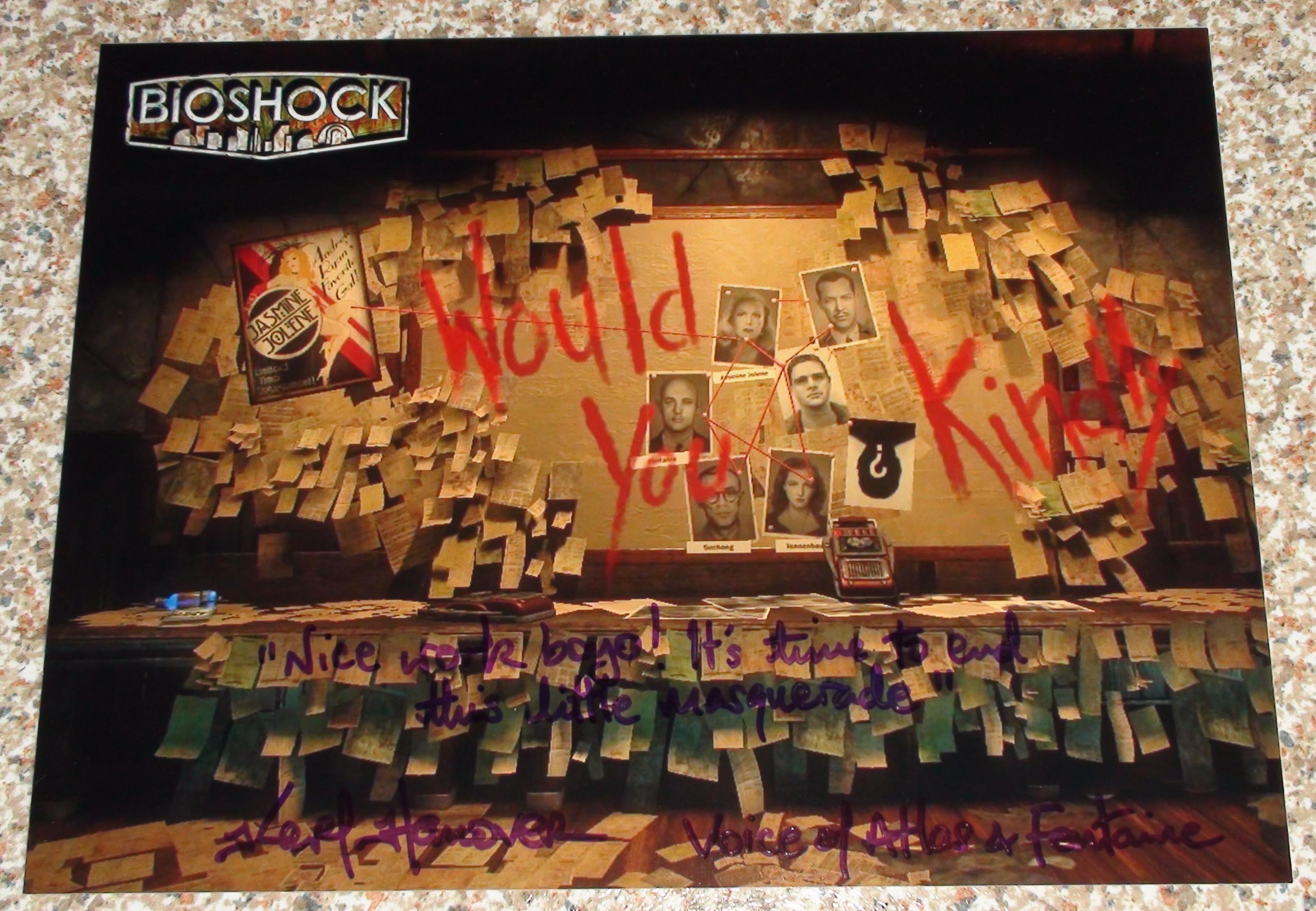 Bioshock - Karl Hanover 1/2