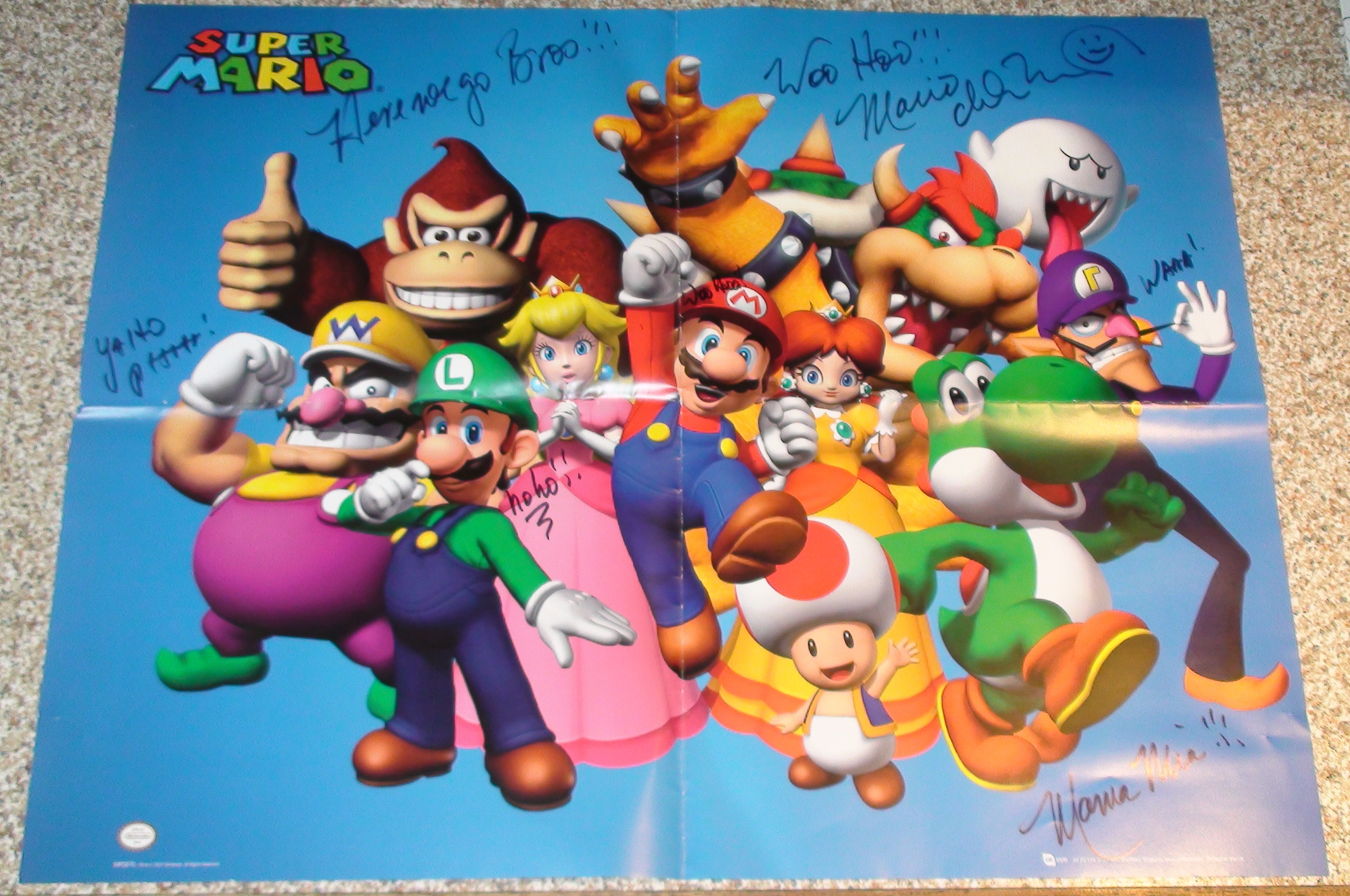 Super Mario - Charles Martinet