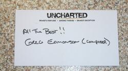 Uncharted - Greg Edmonson