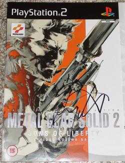 MGS 2 - David Hayter