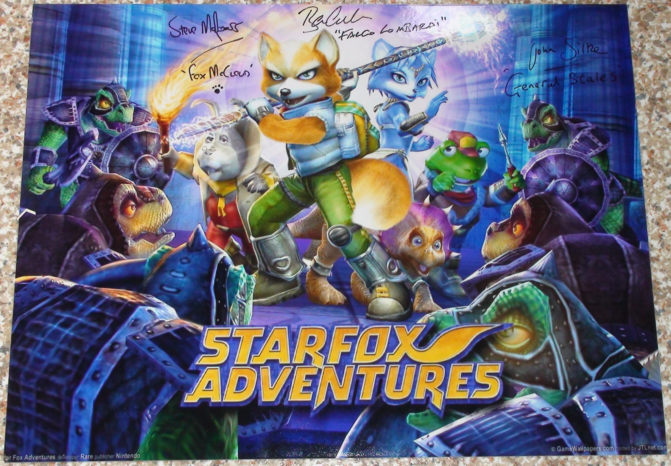 StarFox Adventures - Malpass, Silke, Cullum