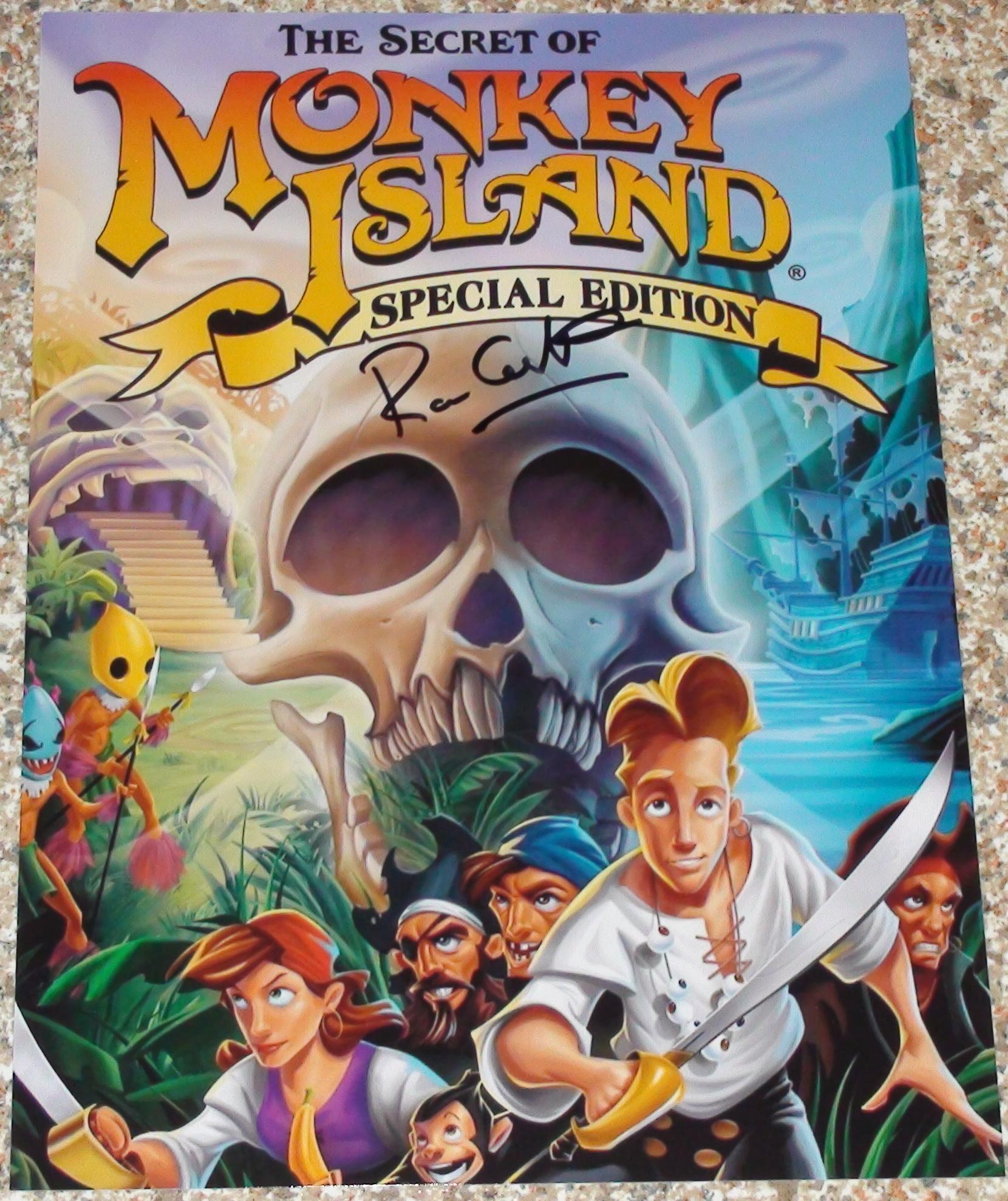 Monkey Island - Ron Gilbert
