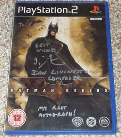 Batman Begins - Ian Livingstone