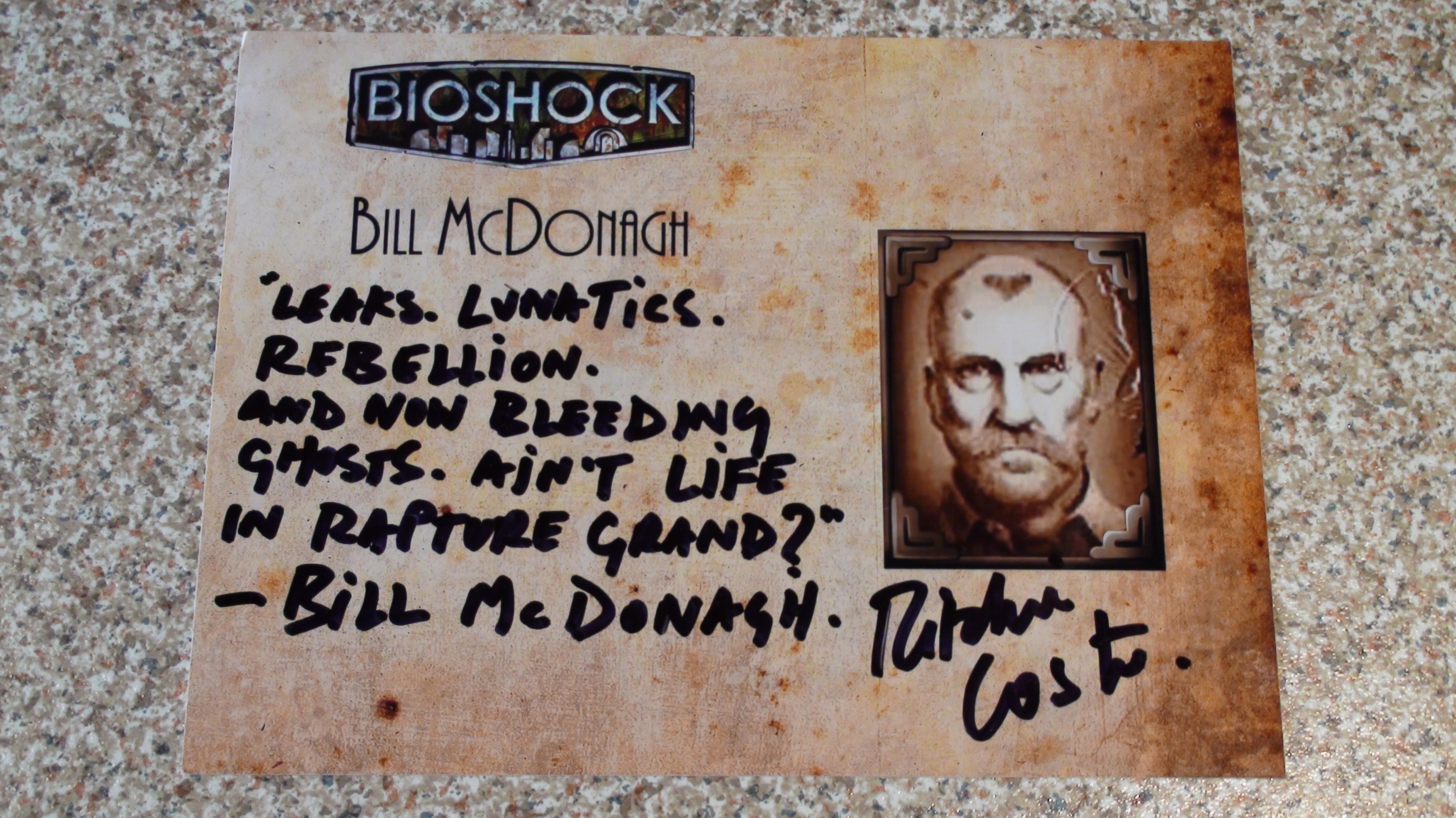 Bioshock - Ritchie Coster