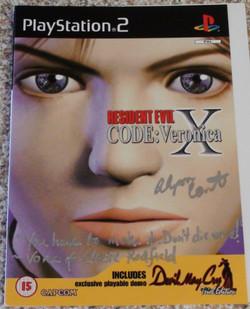 RE: Code Veronica X - Alyson Court