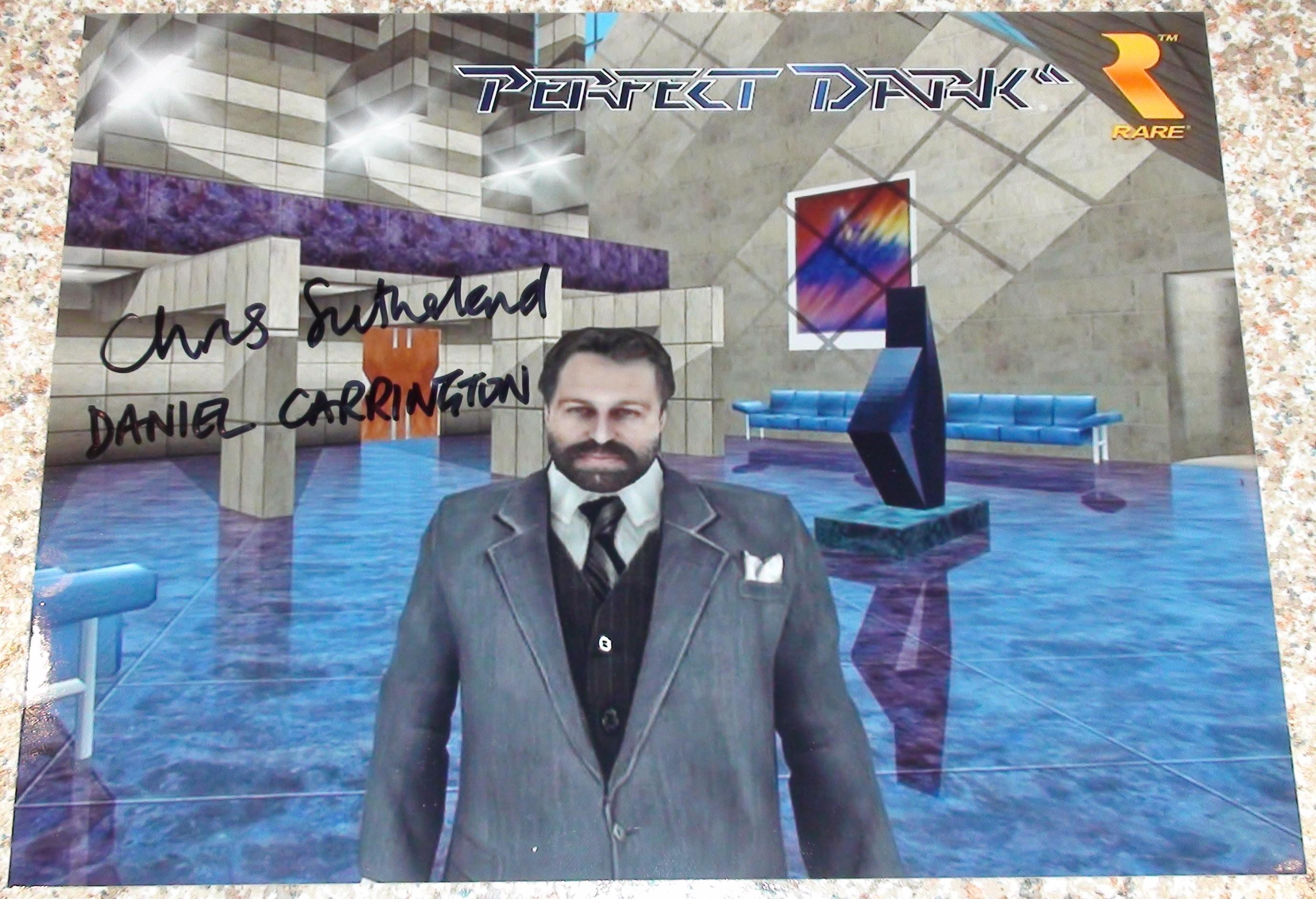 Perfect Dark - Daniel Carrington