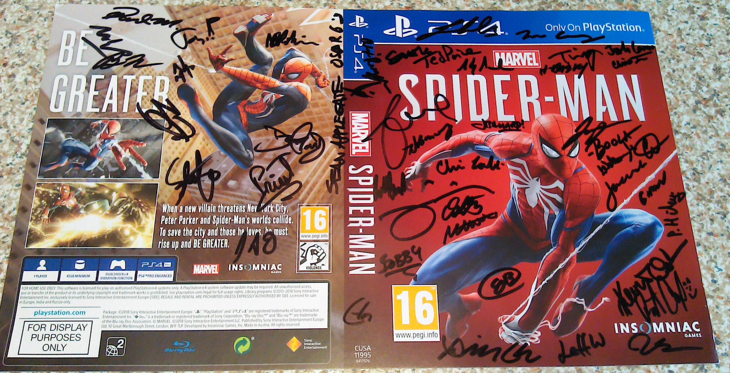 Spider-Man - Insomniac Ganes