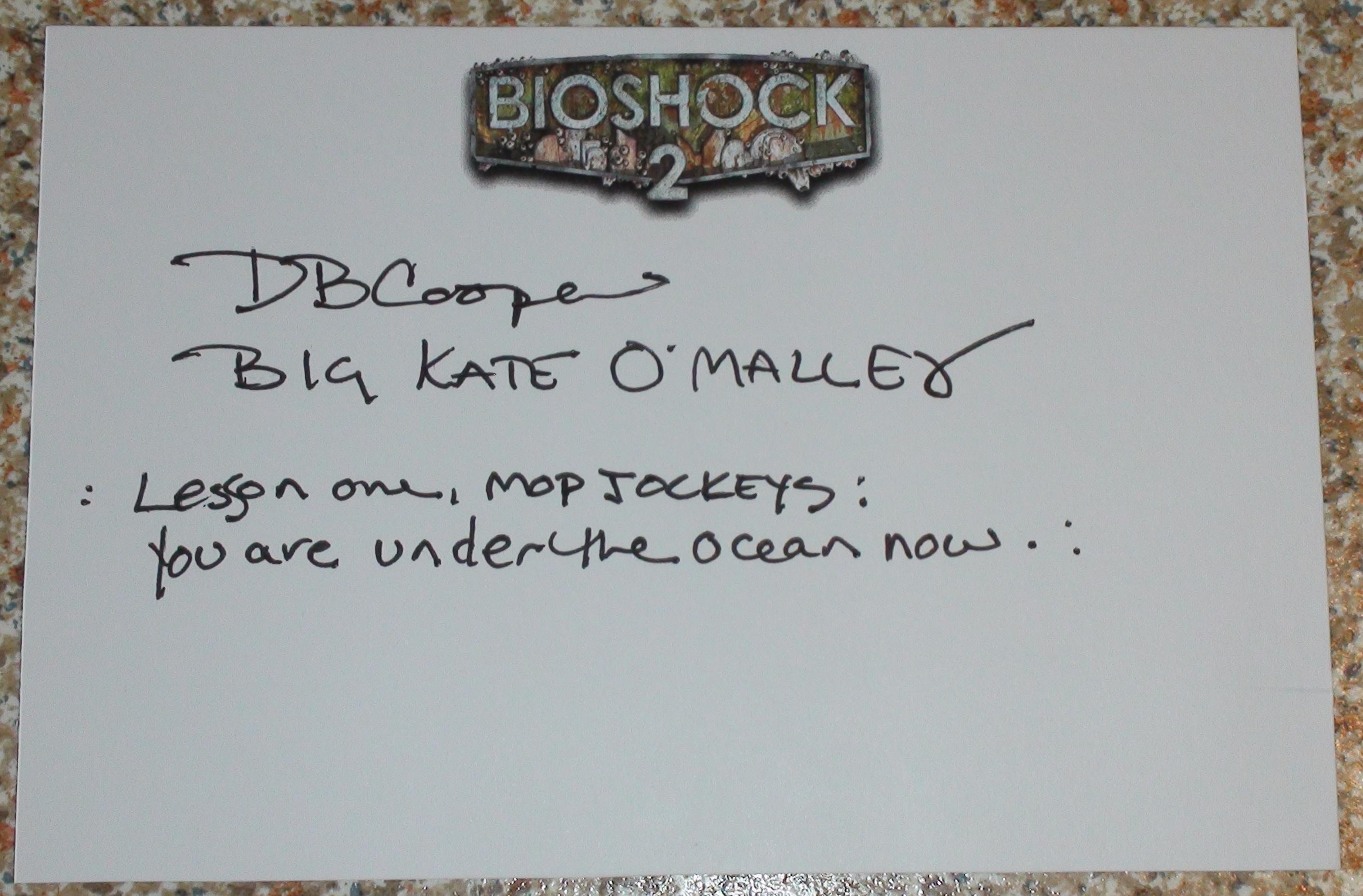 Bioshock 2 - DB Cooper