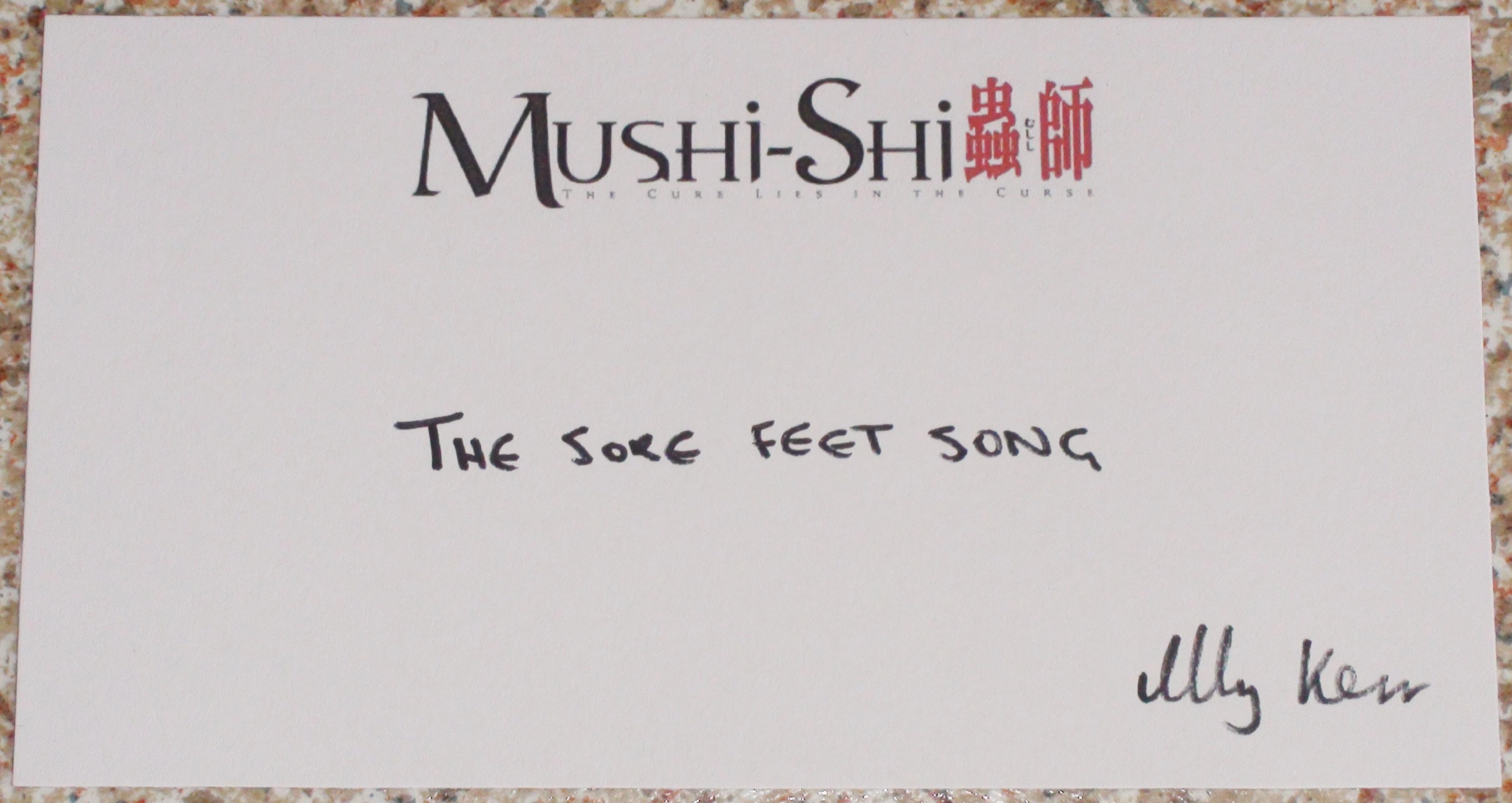Mushi-Shi - Ally Kerr