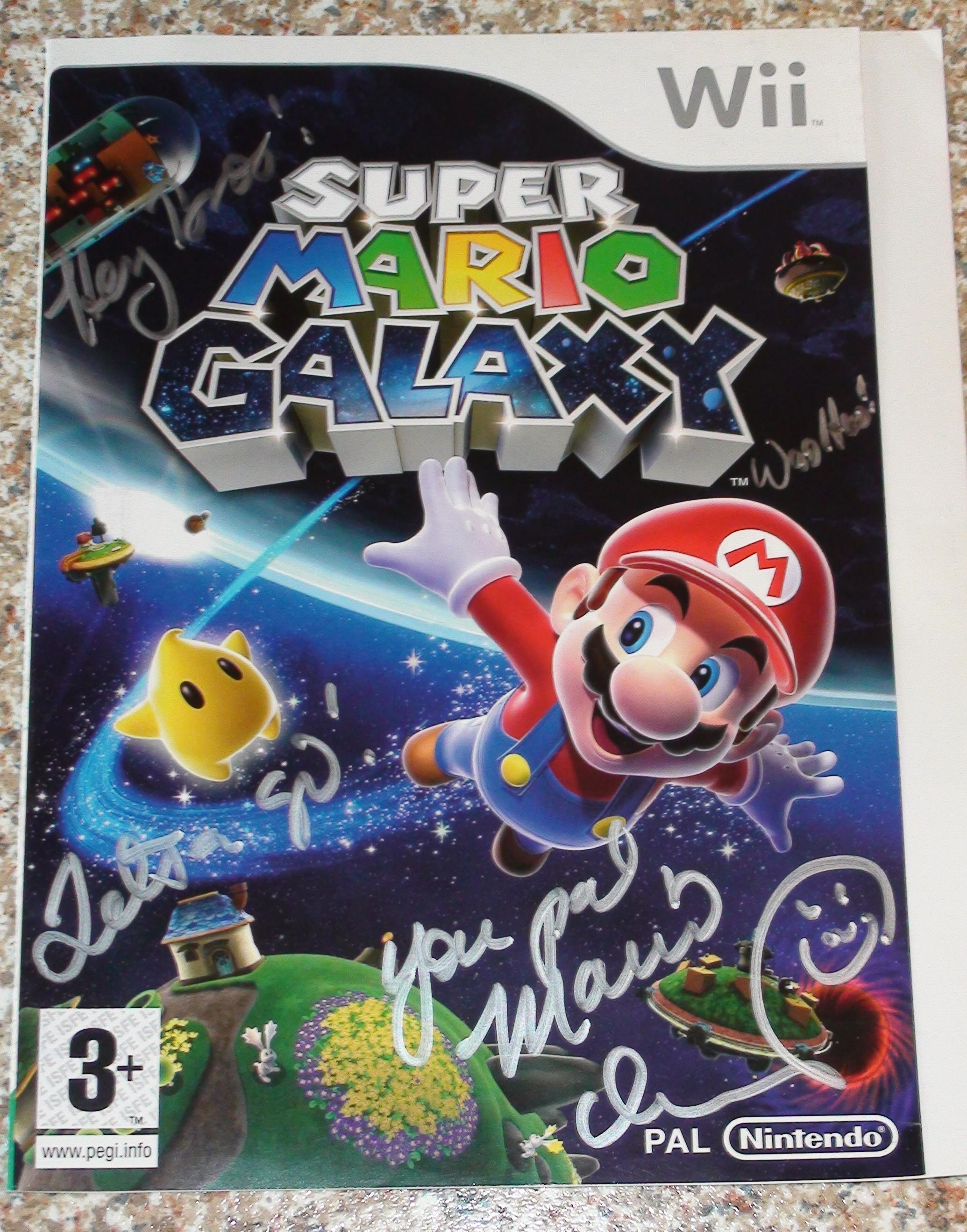 Super Mario Galaxy - Martinet