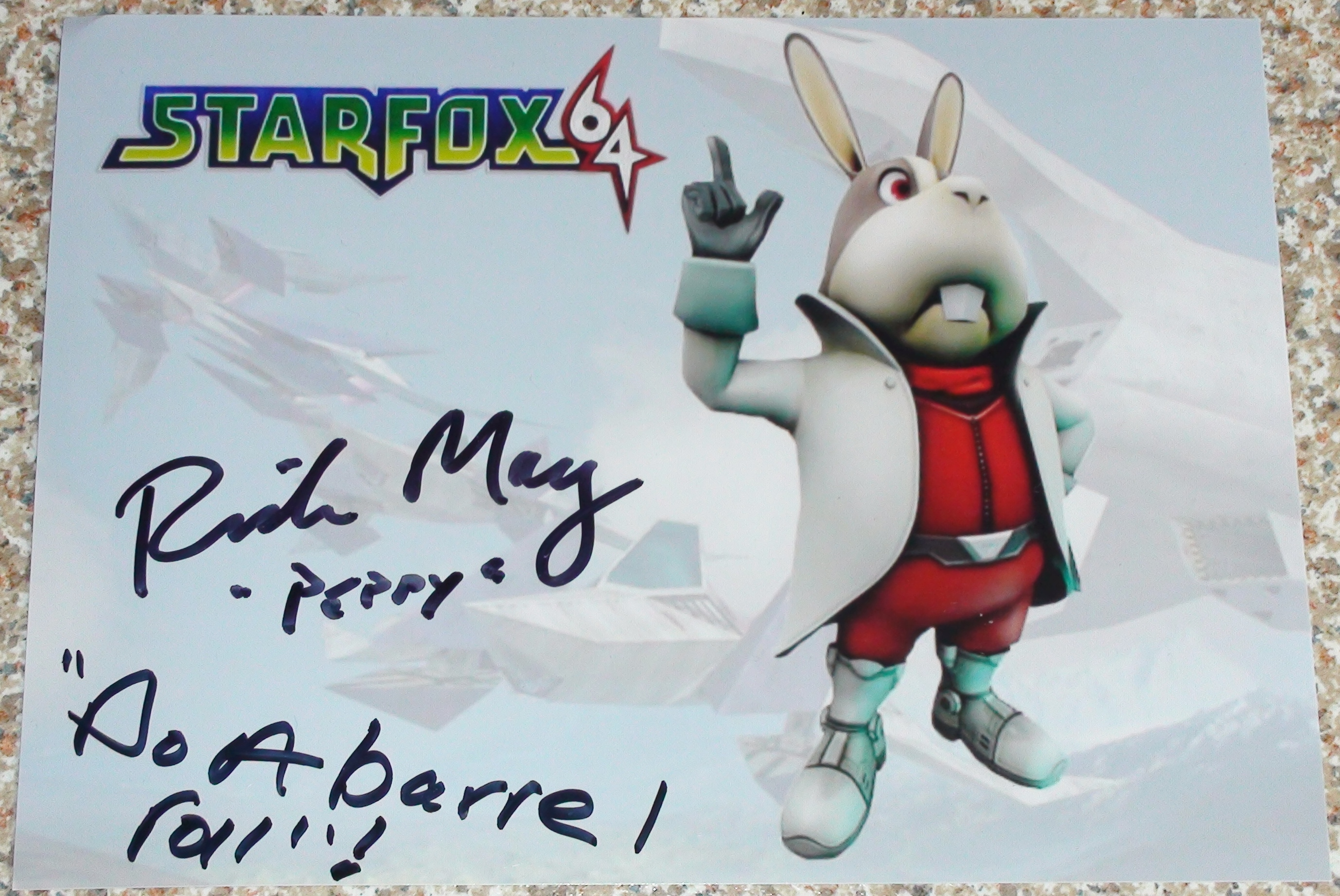 Star Fox 64 - Rick May
