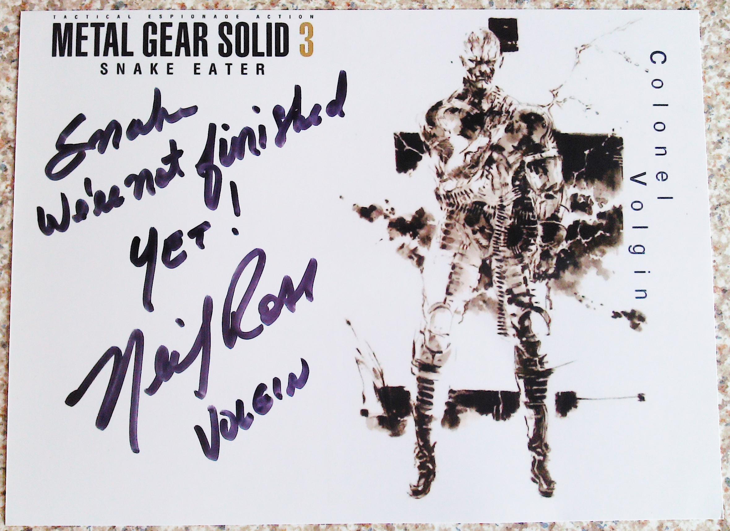 MGS 3 - Neil Ross