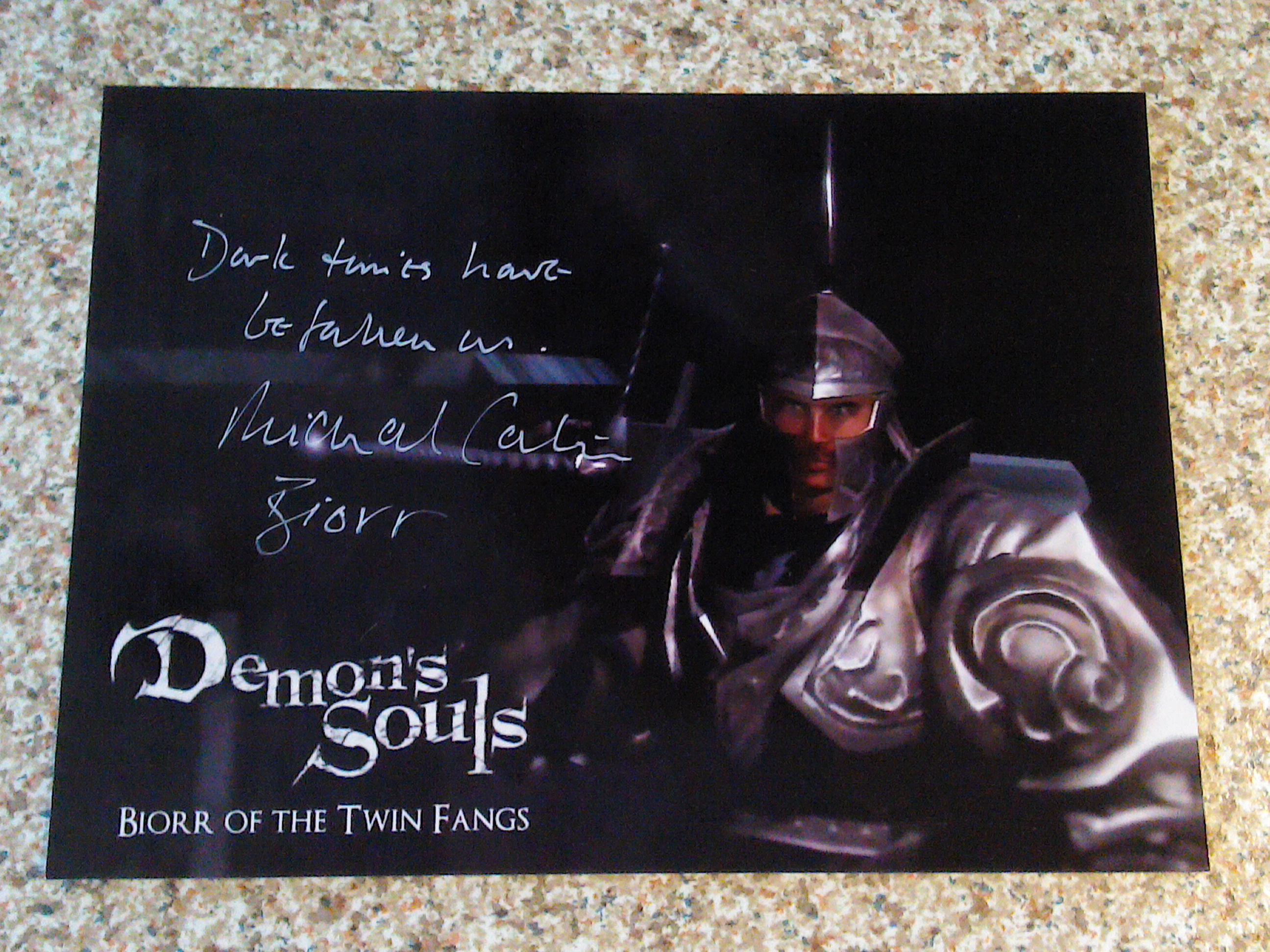 Demon's Souls - Michael Carter