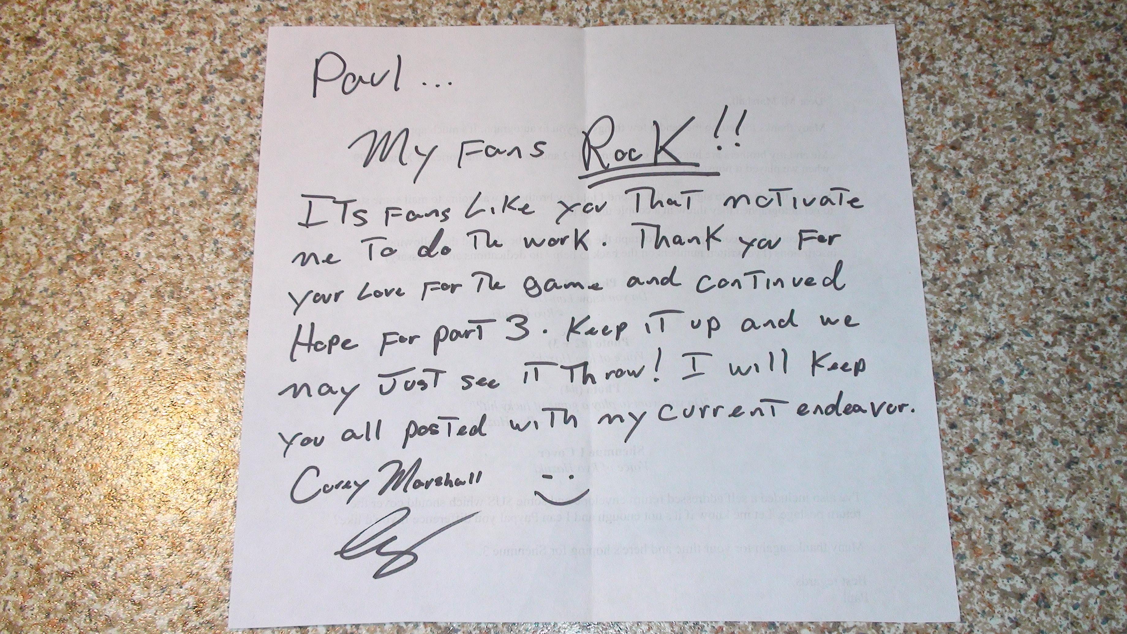 Corey Marshall