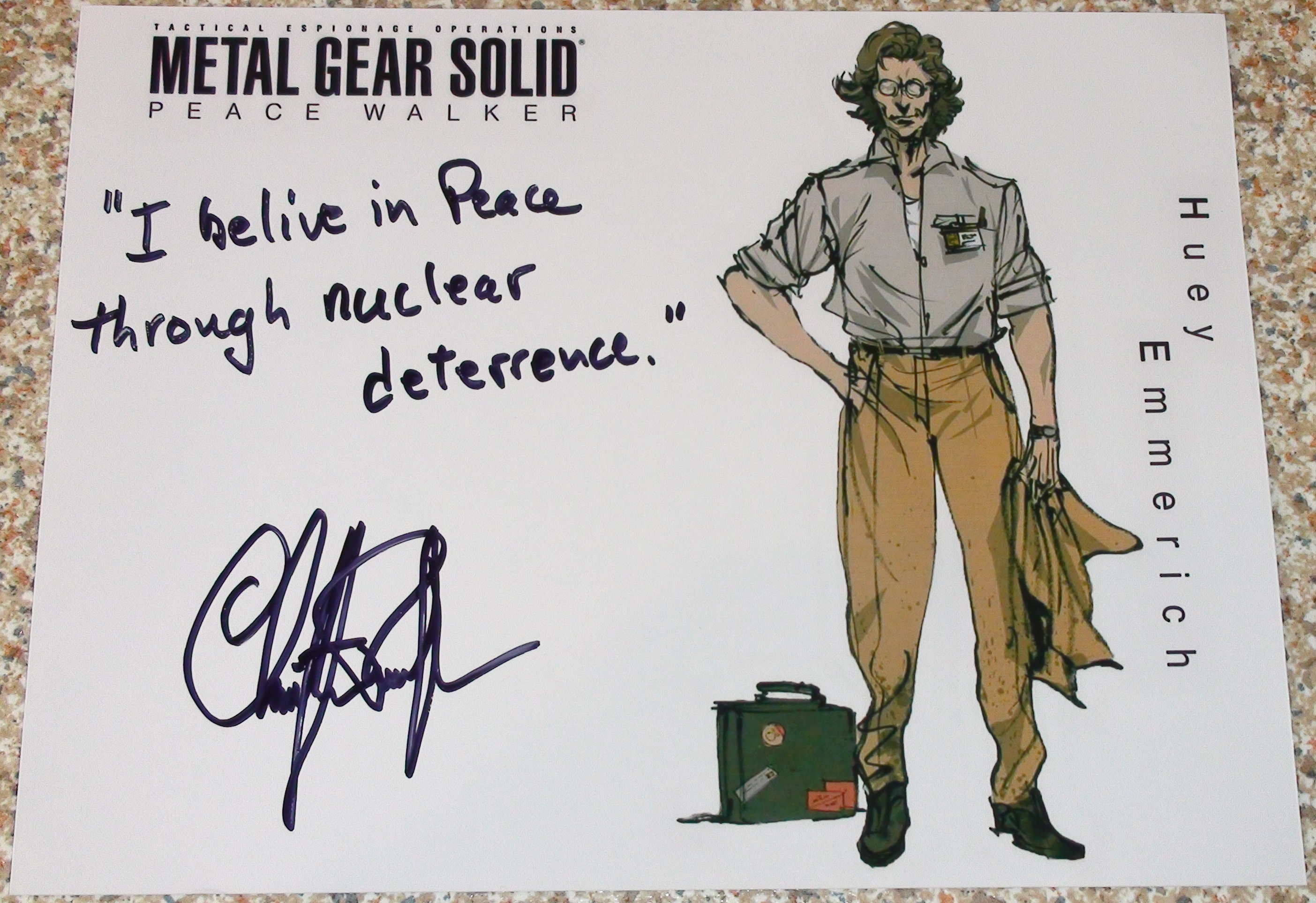 MGS: PW - Christopher Randolph