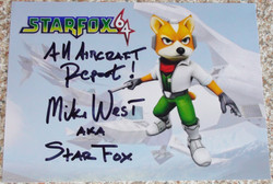 Star Fox 64 - Mike West
