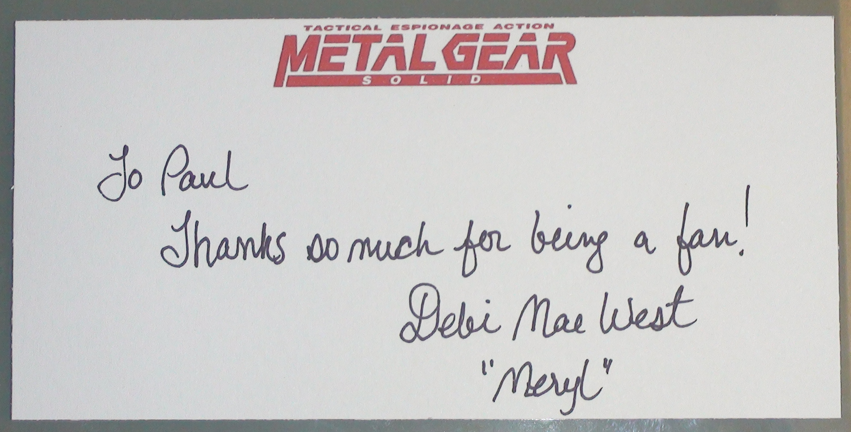 MGS - Debi Mae West