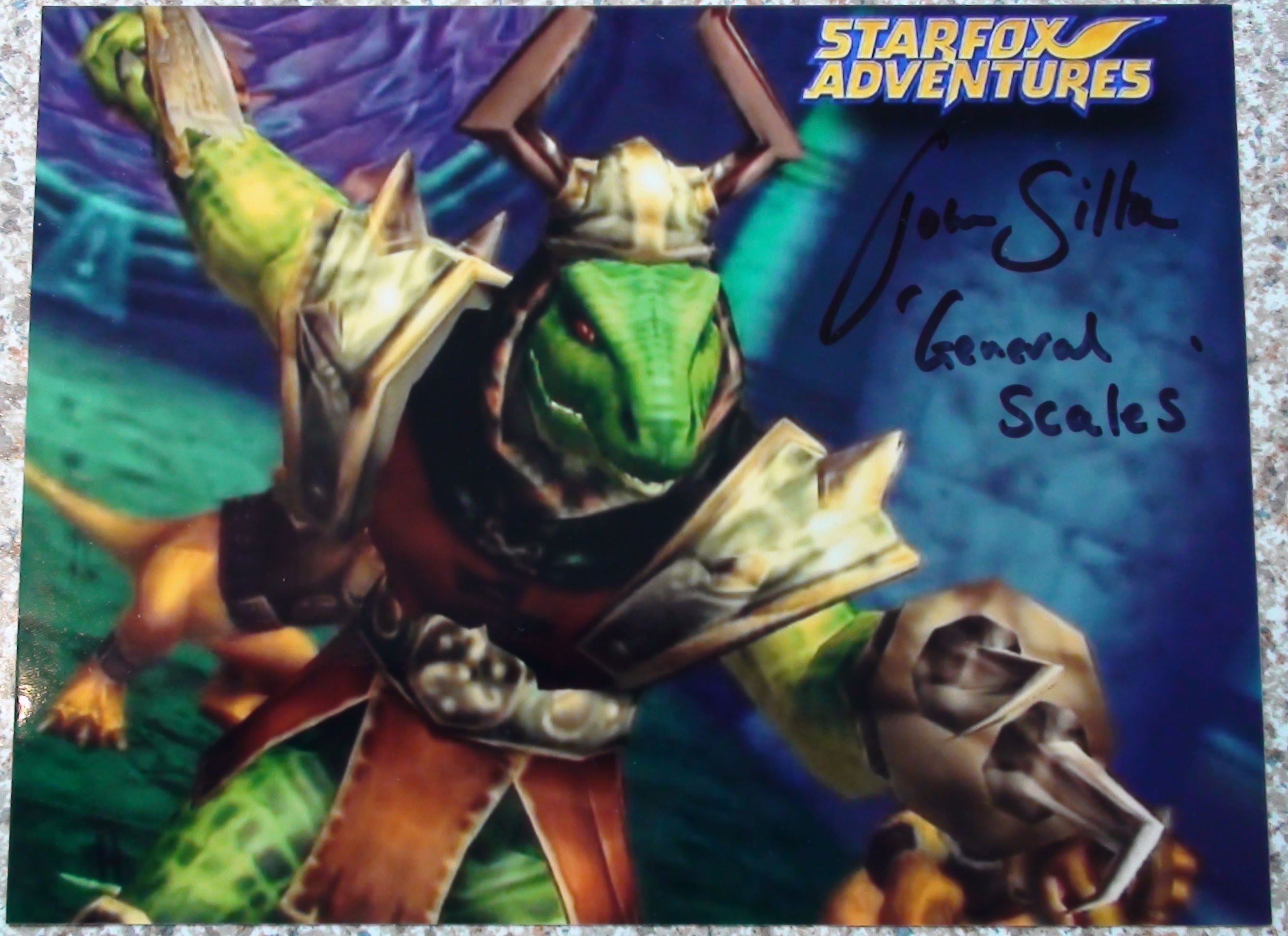 StarFox Adventures - John Silke