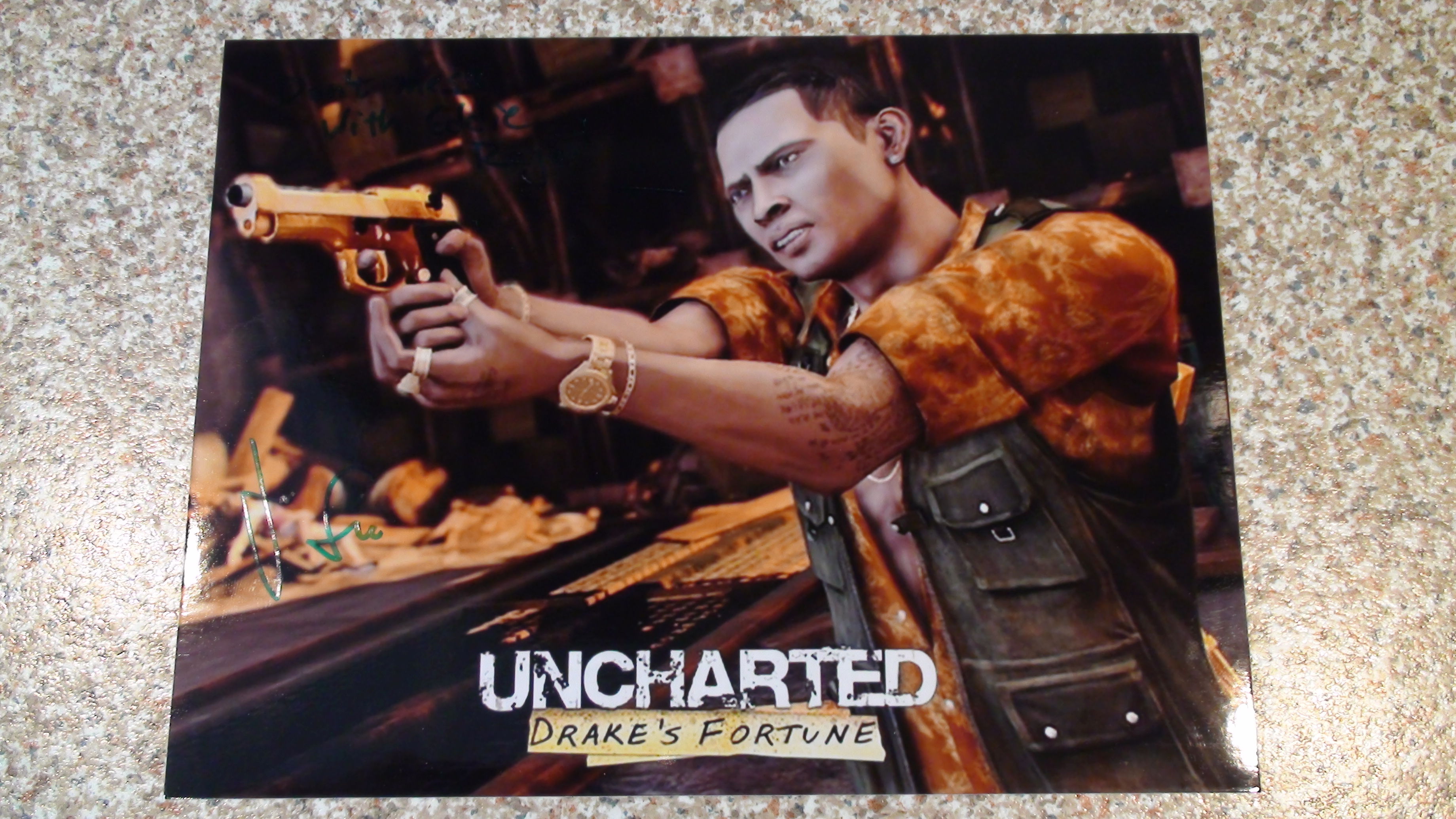 Uncharted - James Sie 1/3