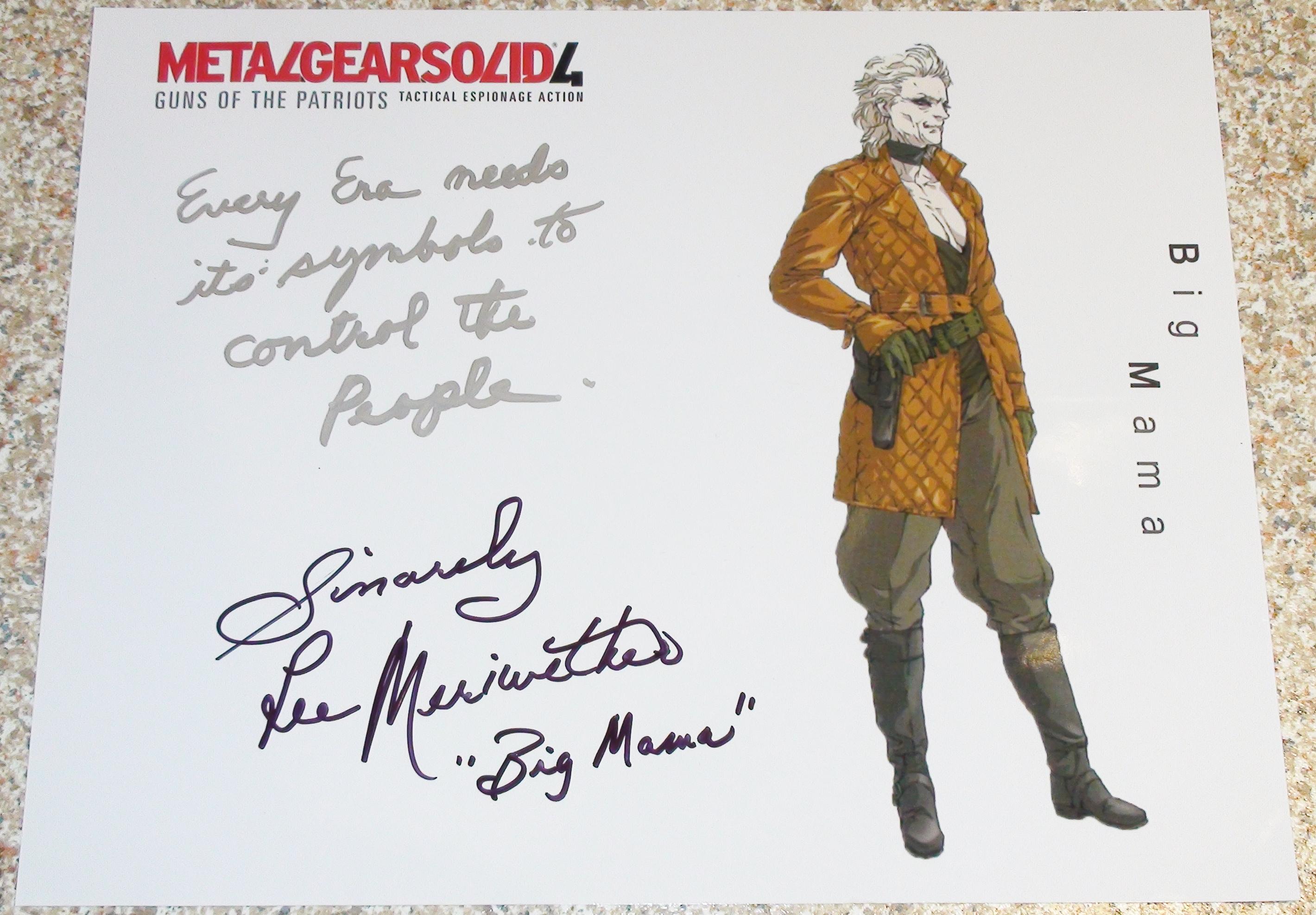 MGS 4 - Lee Meriwether