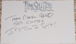 Timesplitters 3 - Tom Clarke Hill