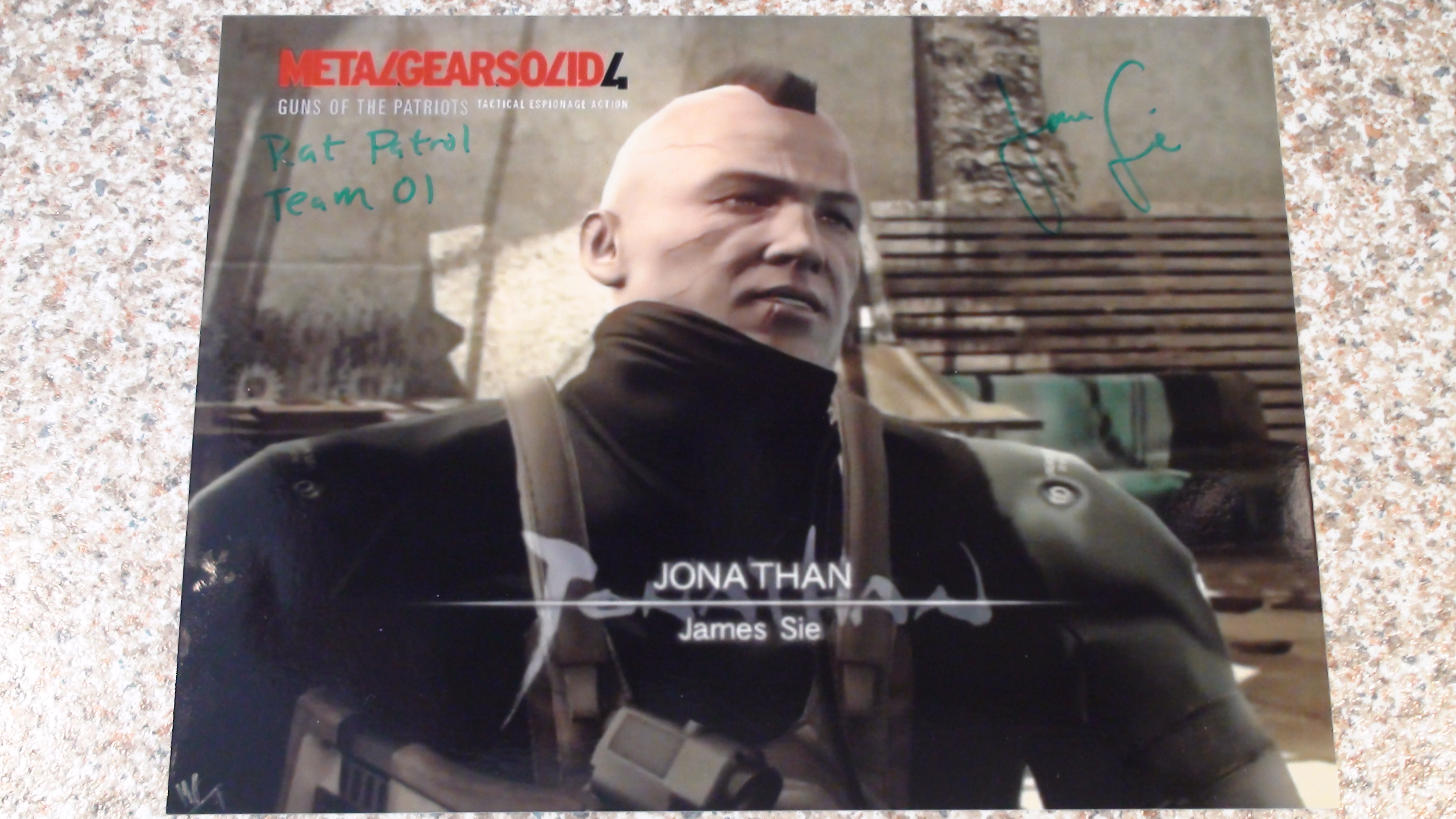 MGS 4 - James Sie