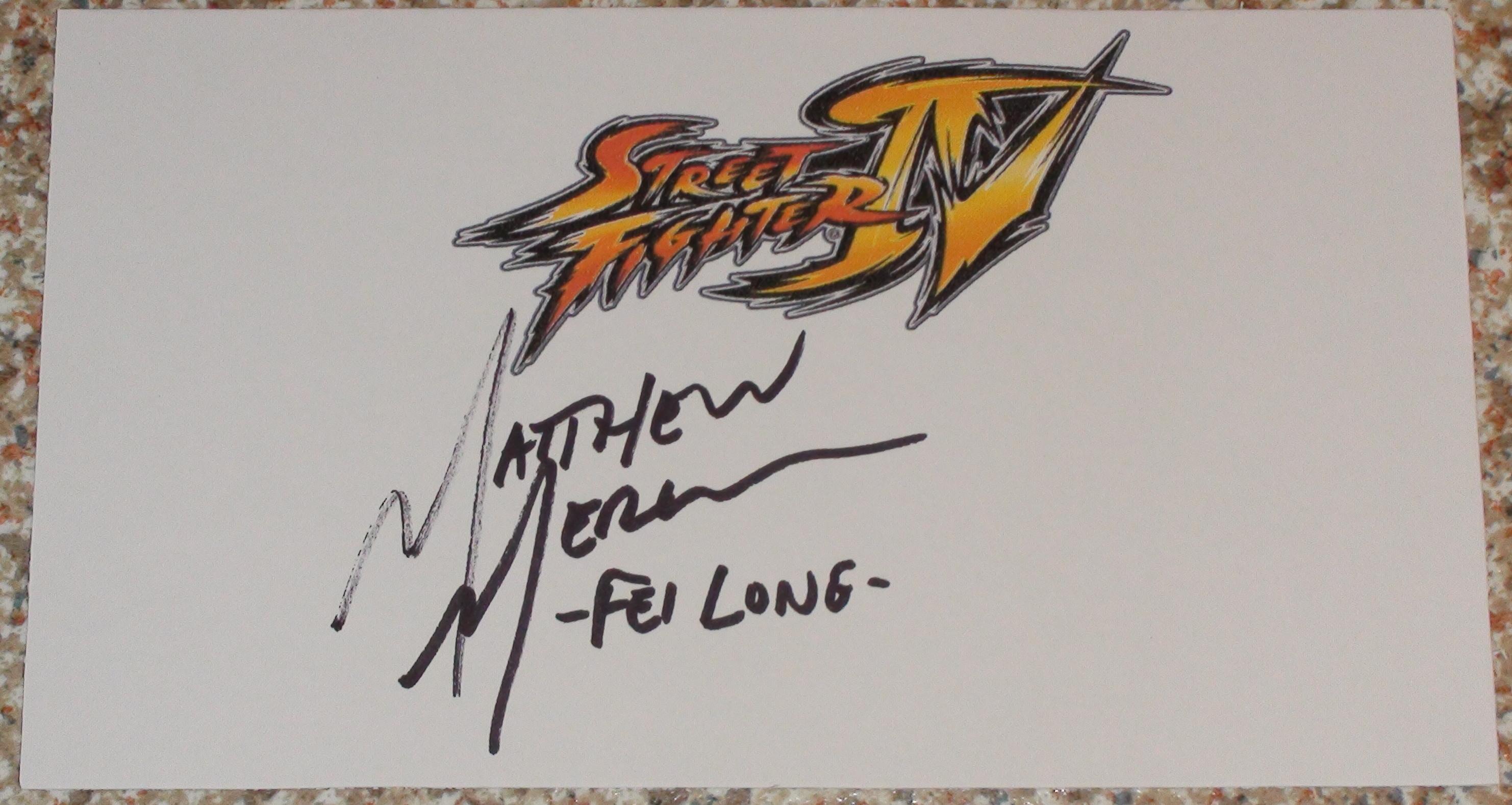 Street Fighter IV - Matthew Mercer