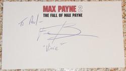 Max Payne 2 - Fred Berman