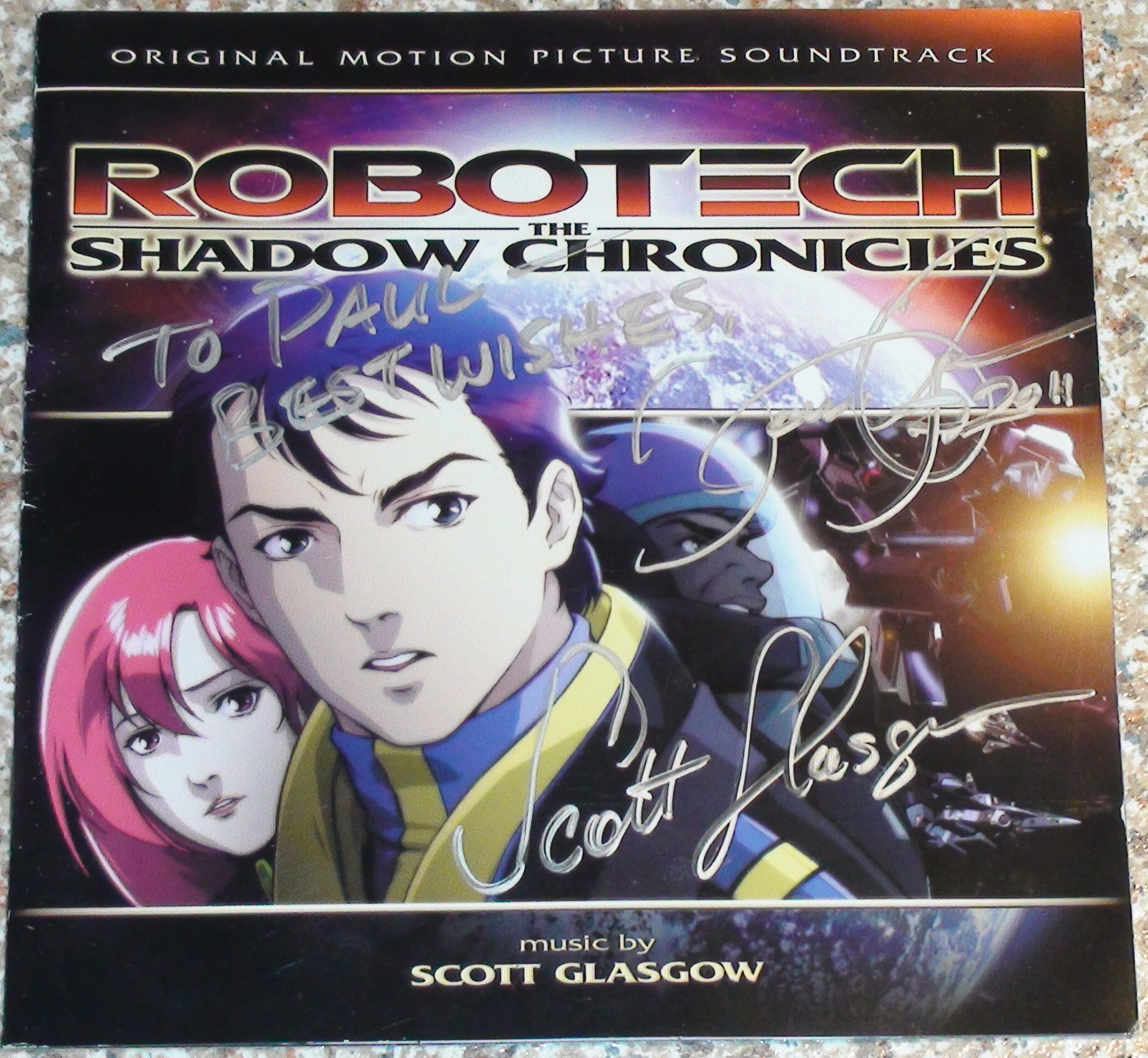 Robotech - Director, Composer, Voice Actors
