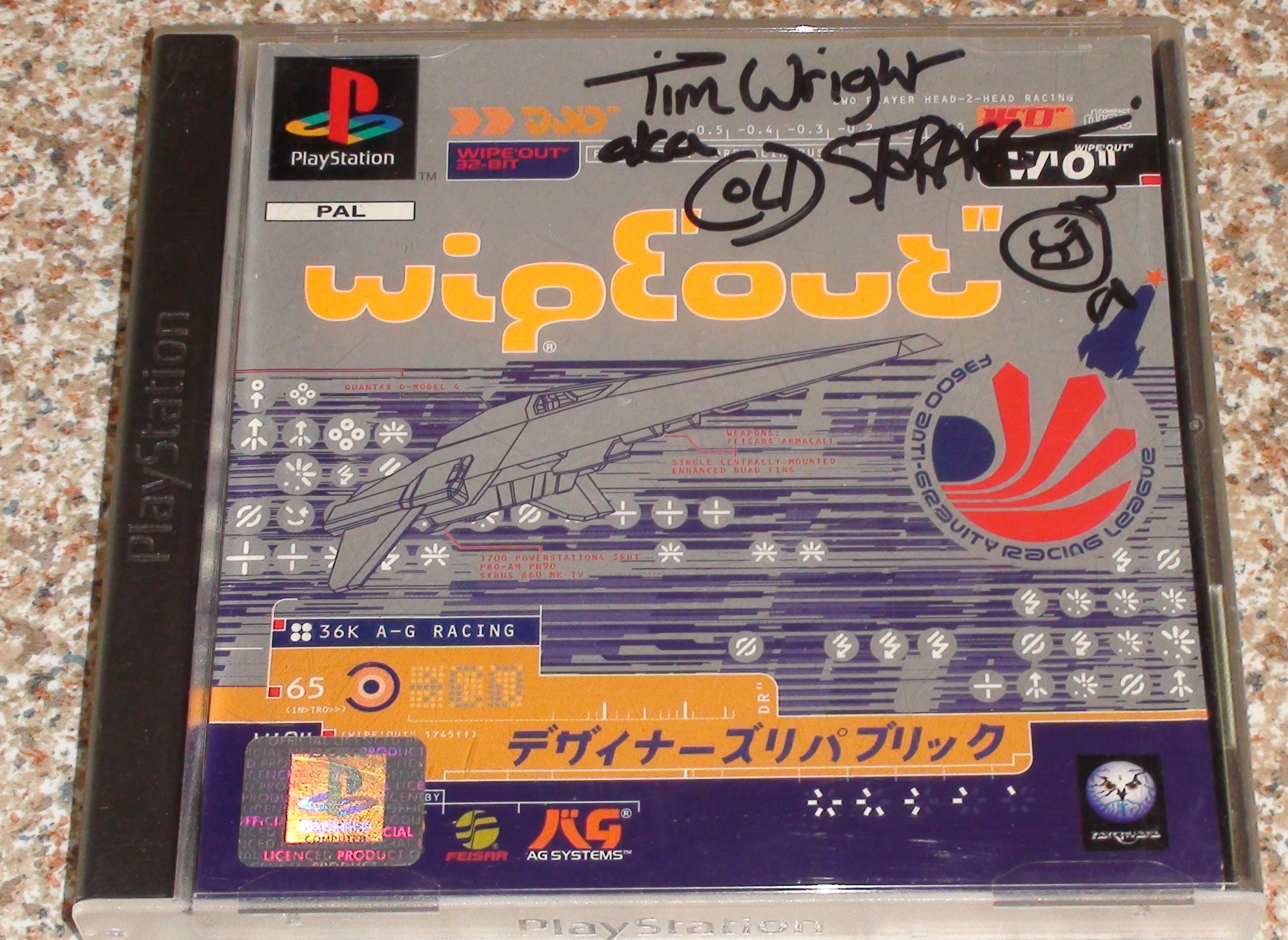Wipeout - Tim Wright