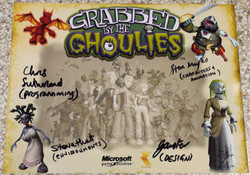 Grabbed By The Ghoulies - Various